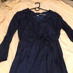 Gap navy blue dress